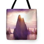 Fantasy Islands Tote Bag