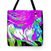 Fantasy Painted Dream Horse Tote Bag