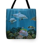 Fantasy Reef Re0020 Tote Bag