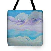 Fantasy Snowscape Tote Bag