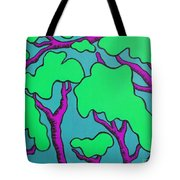Fantasy Trees Tote Bag