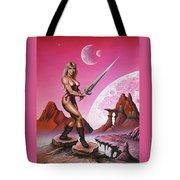 Fantasy Warrior Princess Tote Bag