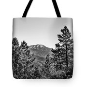Far Side Of The Mountain Tote Bag