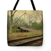 Far Side Of The Tracks Tote Bag