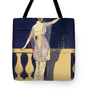 Farewell At Night Tote Bag
