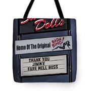 Farewell Boss Tote Bag