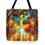 Farewell To Anger Tote Bag by Leonid Afremov