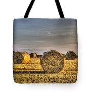 Farm Bales Tote Bag