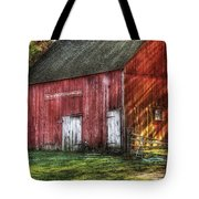 Farm - Barn - The Old Red Barn Tote Bag