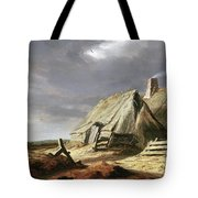 Farm Buildings In A Landscape, C.1625-28 Tote Bag