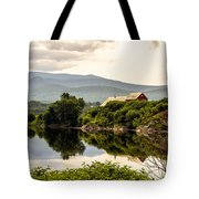 Farm By The Connecticut Tote Bag