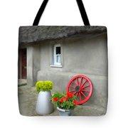 Farm Cottage Tote Bag