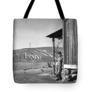 Farm Erosion, 1937 Tote Bag