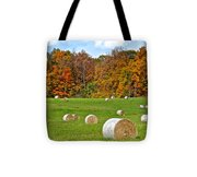 Farm Fresh Hay Tote Bag