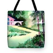 Farm House New Tote Bag by Anil Nene