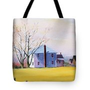 Farm In Spring Tote Bag