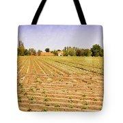 Farm Landscape Tote Bag