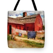 Farm - Laundry - The Clothes Line Tote Bag