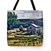 Farm Look Tote Bag