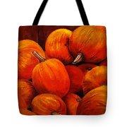 Farm Market Pumpkins Tote Bag