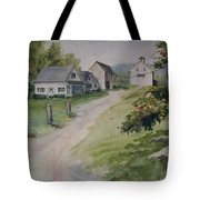 Farm On Orchard Hill Tote Bag