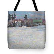 Farm On The 19th Tote Bag