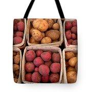 Farm Potatoes Tote Bag