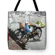 Farm Stand Tote Bag by Jack Gannon