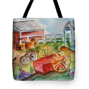 Farmers Backyard Tote Bag