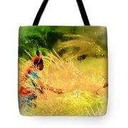 Farmers Fields Harvest India Rajasthan 1a Tote Bag