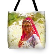 Farmers Fields Harvest India Rajasthan 8 Tote Bag