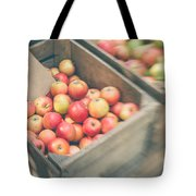 Farmers' Market Apples Tote Bag