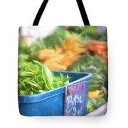 Farmer's Market Basil Tote Bag