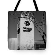 Farmers Market Bw Tote Bag