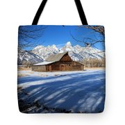 Farmers View Tote Bag