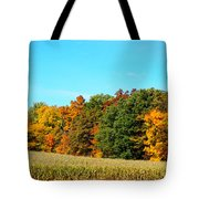 Farmfield Fall Tote Bag