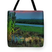 Farm Sunset Tote Bag