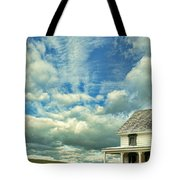 Farmhouse By Cornfield Tote Bag
