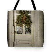 Farmhouse Christmas Tote Bag