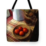 Farmhouse Fruit And Flowers Tote Bag