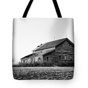 farmhouse in spring - Old Barns Tote Bag