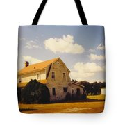 Farmhouse Landscape Tote Bag