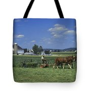 Farming The Old Order Way Tote Bag