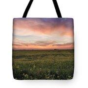 Farmland Sunset 1 Tote Bag