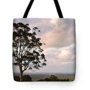 Farmland Sunset Tote Bag