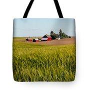 Farmlands Near Davenport Tote Bag