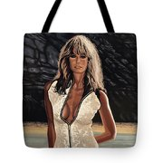 Farrah Fawcett Painting Tote Bag