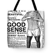 Fashion Corset, 1890 Tote Bag
