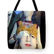 Fashion Face Tote Bag