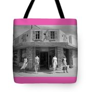 Fashion Models Tote Bag